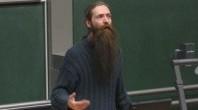 Aubrey de Grey in Heidelberg 2007